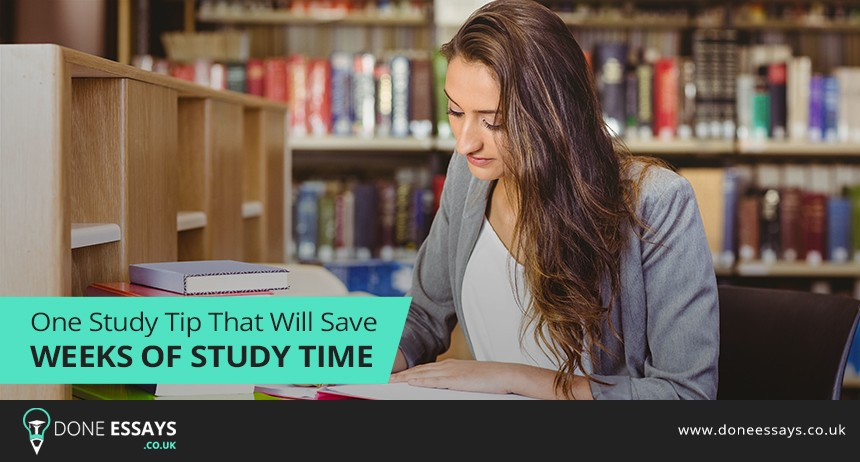 One Study Tip That Will Save Weeks of Study Time